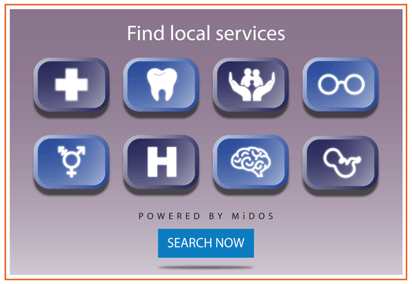 Find local services - click to search now